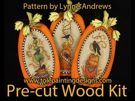 Pumpkin Decorative Painting Surface