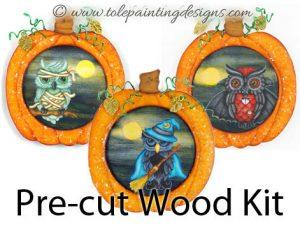 Pumpkin Ornaments Painting Surface