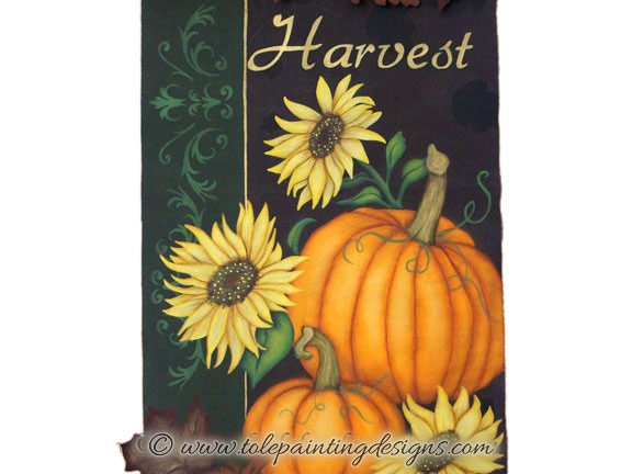 Pumpkins Decorative Painting Pattern