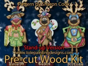 Reindeer Craft Project