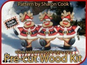 Reindeer Decorative Painting Pattern