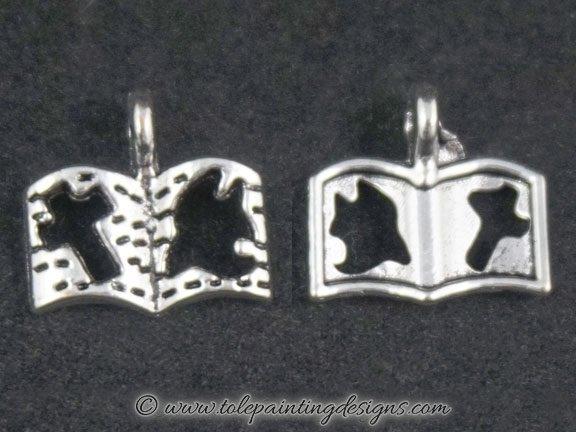Silver Bible Bracelet Charms