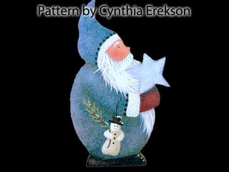 Stargazer Nicklette Painting Pattern