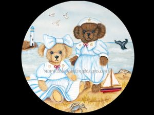Teddy Bear Painting Pattern