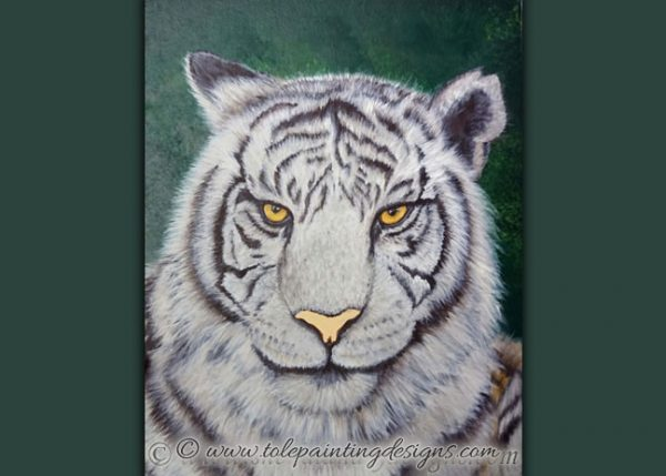 Tiger Painting Instructions