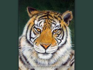 Tiger Painting pattern