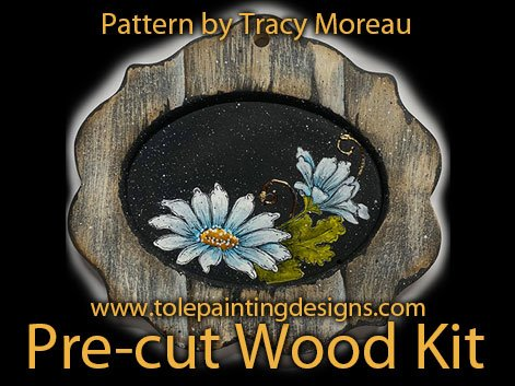 Tracey Moreau Painting Surface