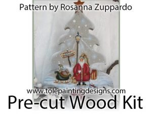 Tree Decorative Painting Surface