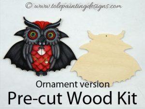 Vampire Decorative Painting Ornament