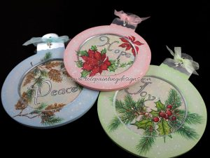 Vintage Christmas Painting Pattern