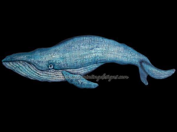 Whale Decorative Painting Pattern
