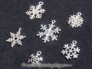 Winter Snowflake Embellishments