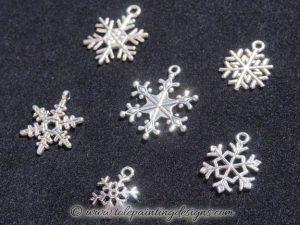 Winter Snowflake Embellishments