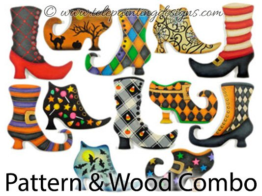 Witch Boots Decorative Painting Supplies