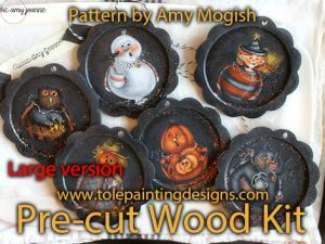 Amy Mogish Ornament Surface