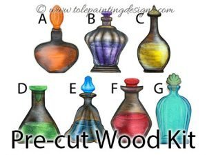 Potion Bottle Decorative Painting