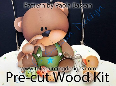 Teddy Bear Decorative Painting