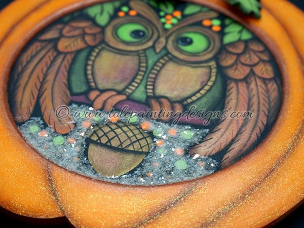 Halloween Owl Painting Pattern