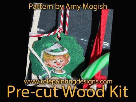 Christmas Elf Painting Pattern