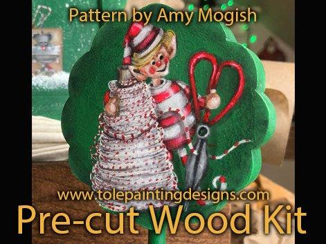 Decorative Painting Christmas Elf
