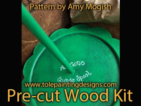 Yarn Spool Painting Surface