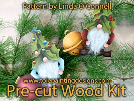 Linda O'Connell Gnome Painting Pattern
