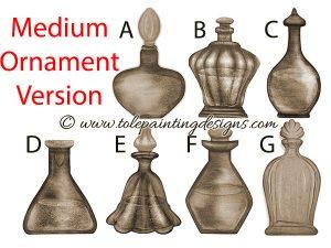 Pefrume Bottle Painting Pattern
