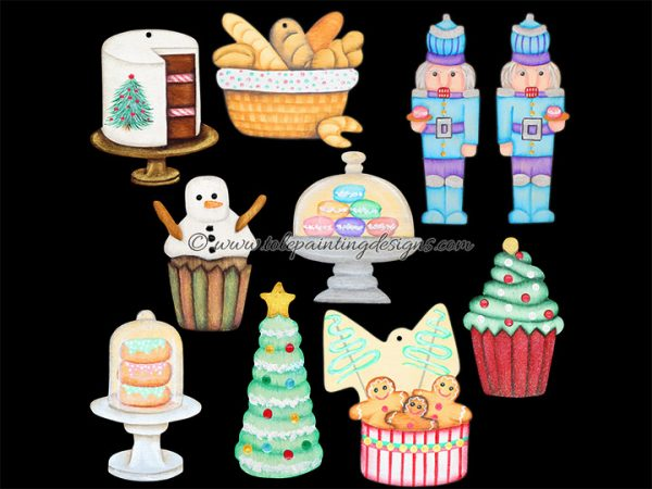 Bakery Ornament Painting Pattern