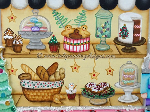 Decorative Painting Christmas Village
