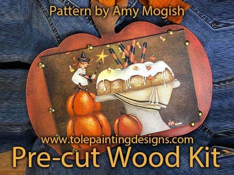 Decorative Painting Halloween Pumpkin