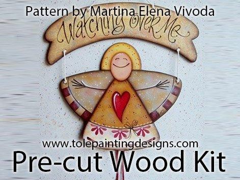 Martina Elena Vivoda Painting Surface
