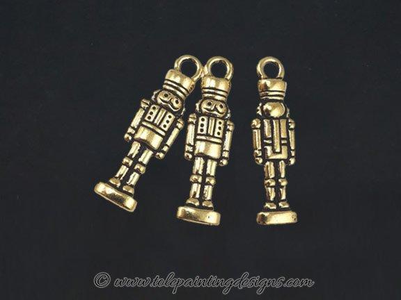 Nutcracker Brass Charms