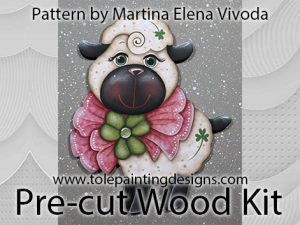 Sheep Tole Painting Surface