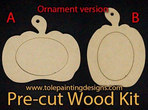 Decorative Painting Pumpkin Ornaments