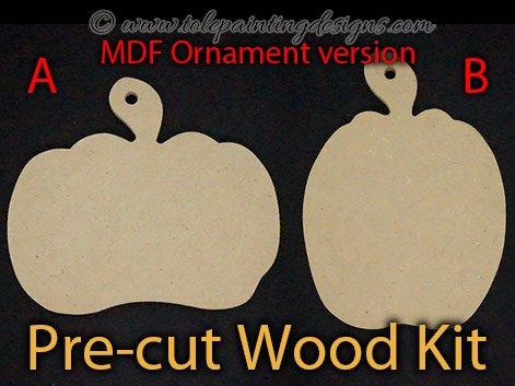 Decorative Painting Pumpkin Ornament
