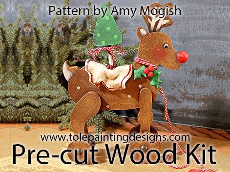 Reindeer Painting Pattern