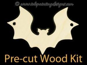 Bat Ornament Painting Surface