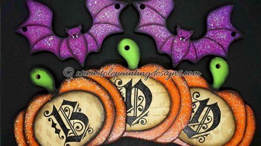 Halloween Decorative Painting Pattern